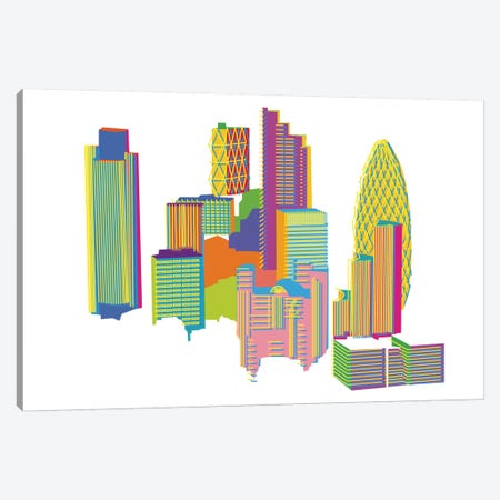 City Canvas Print #YAL17} by Yoni Alter Canvas Art Print