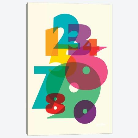 123 Canvas Print #YAL1} by Yoni Alter Canvas Print