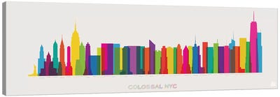 Colossal NYC Canvas Art Print