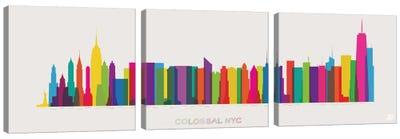 Colossal NYC Canvas Art Print