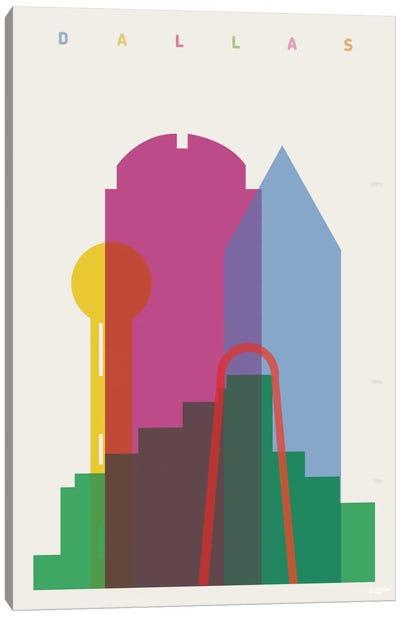 Dallas Canvas Print #YAL22