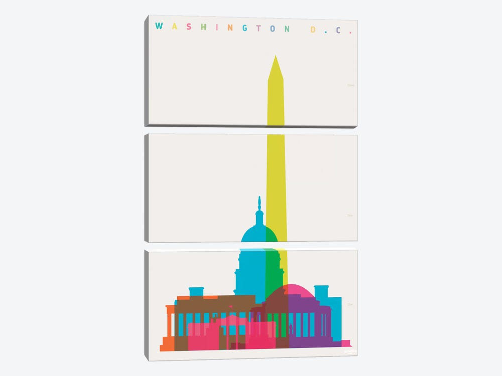 Washington D.C. by Yoni Alter 3-piece Art Print
