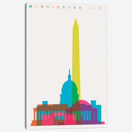 Washington D.C. Canvas Print #YAL23} by Yoni Alter Canvas Print