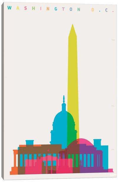 Washington D.C. Canvas Art Print
