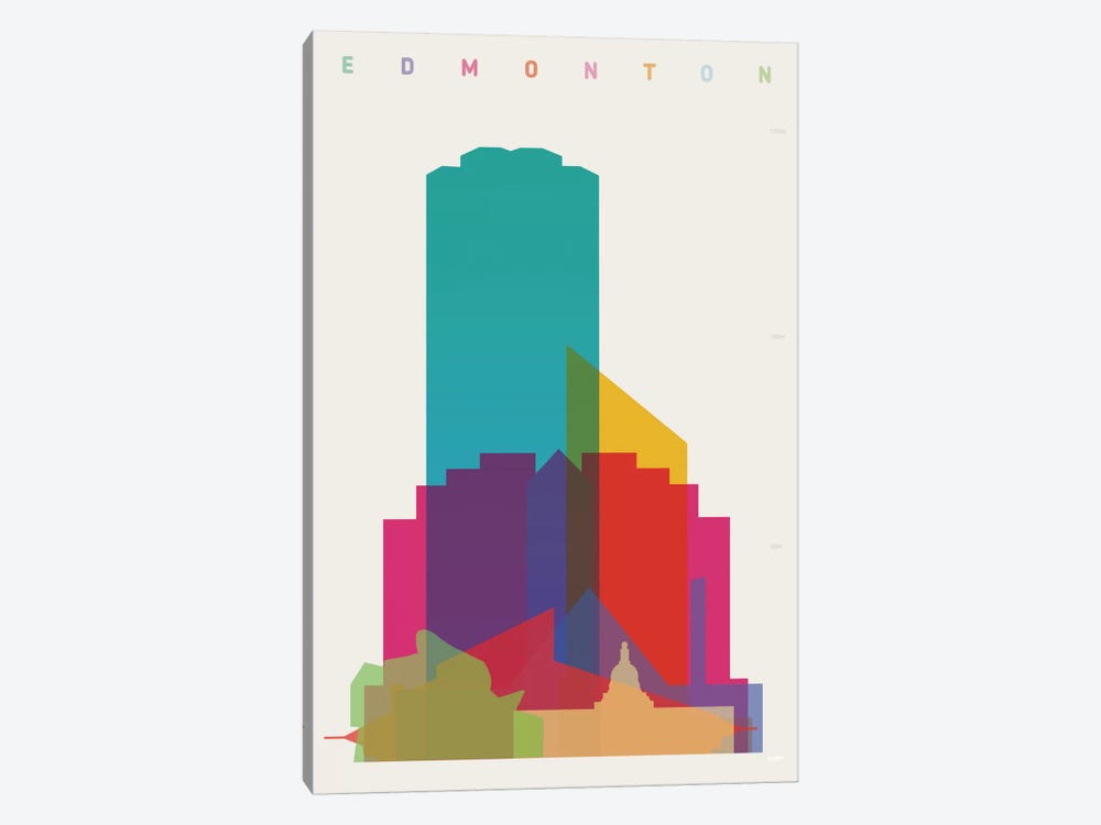Edmonton by Yoni Alter 1-piece Canvas Artwork