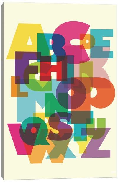 ABC Canvas Print #YAL2