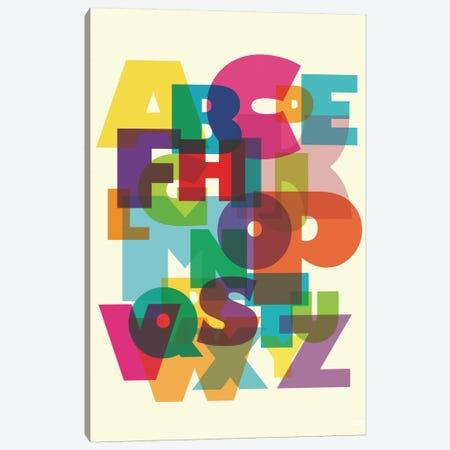ABC 3-Piece Canvas #YAL2} by Yoni Alter Canvas Print
