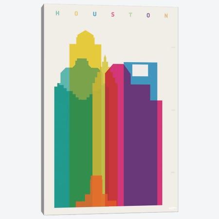 Houston Canvas Print #YAL34} by Yoni Alter Art Print