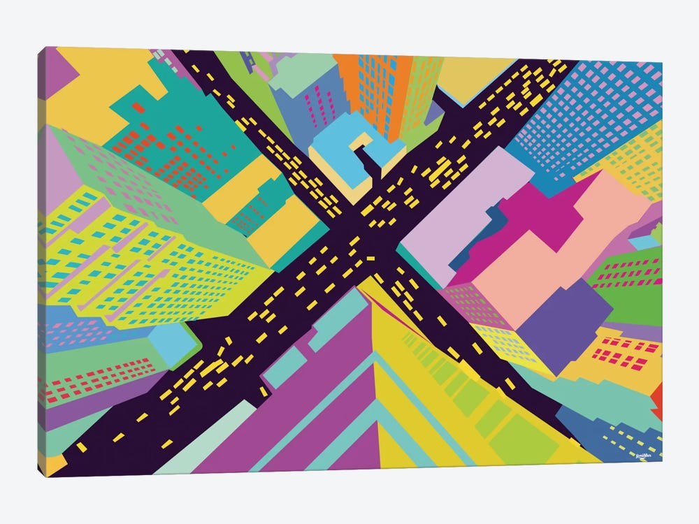 Intersection II by Yoni Alter 1-piece Art Print