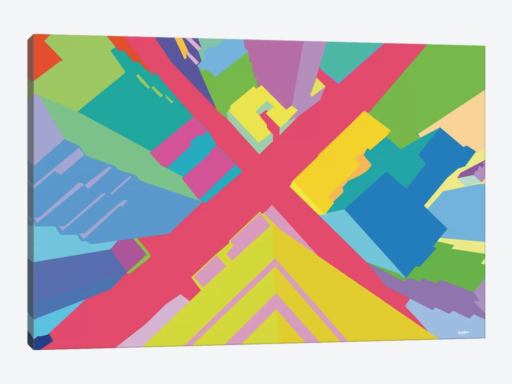 Intersection III by Yoni Alter 1-piece Canvas Artwork