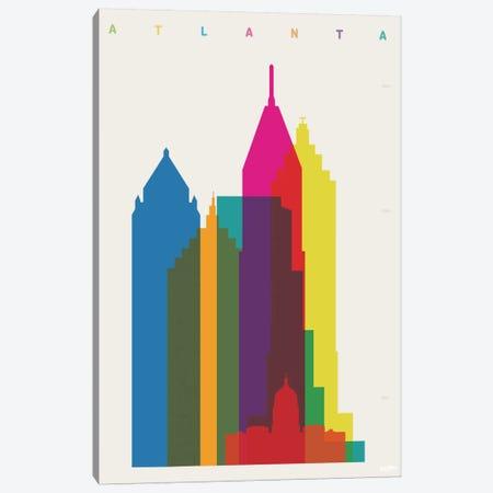 Atlanta Canvas Print #YAL3} by Yoni Alter Canvas Print