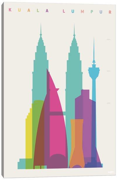 Kuala Lumpur Canvas Print #YAL42