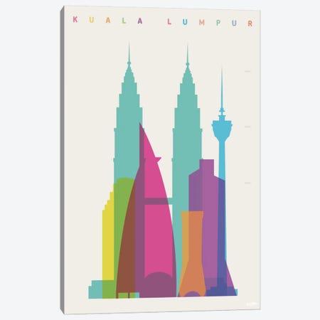 Kuala Lumpur Canvas Print #YAL42} by Yoni Alter Art Print
