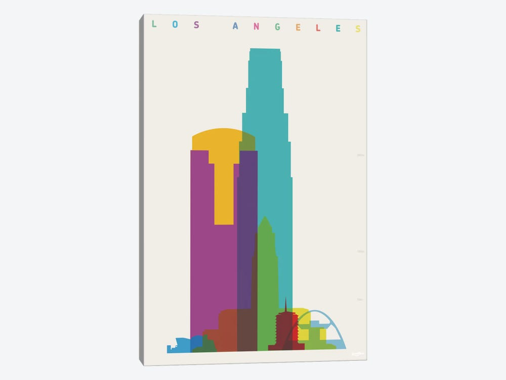 Los Angeles by Yoni Alter 1-piece Art Print