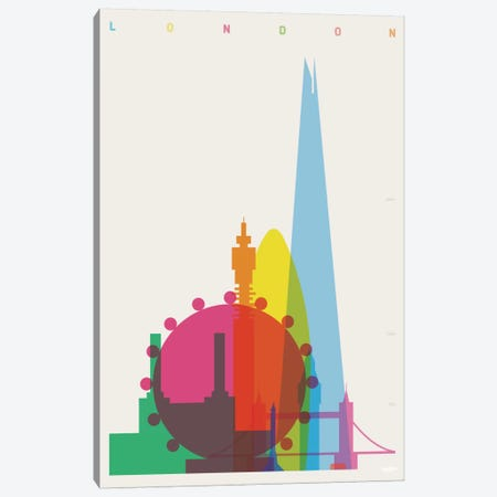 London Canvas Print #YAL45} by Yoni Alter Canvas Wall Art