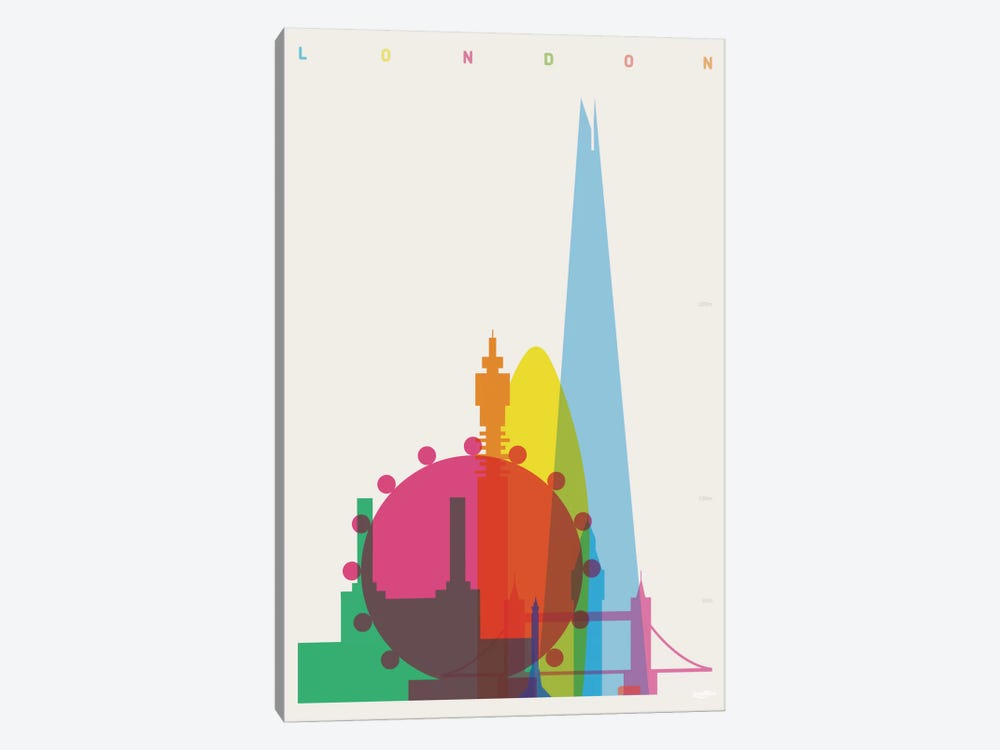 London 1-piece Art Print