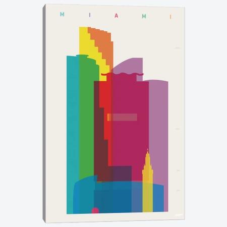 Miami Canvas Print #YAL49} by Yoni Alter Art Print