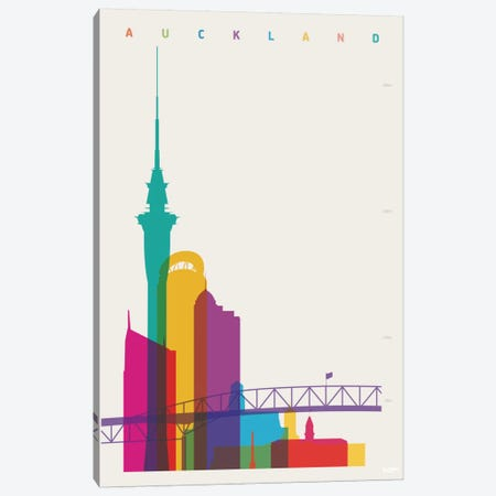 Auckland Canvas Print #YAL4} by Yoni Alter Canvas Wall Art