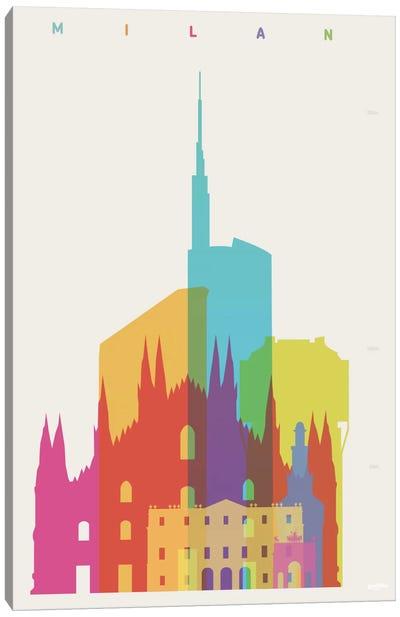 Milan Canvas Print #YAL50