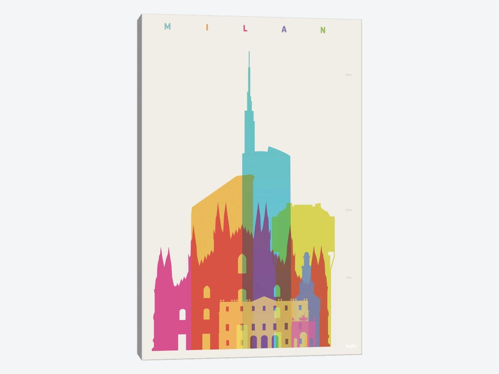 Milan by Yoni Alter 1-piece Canvas Print