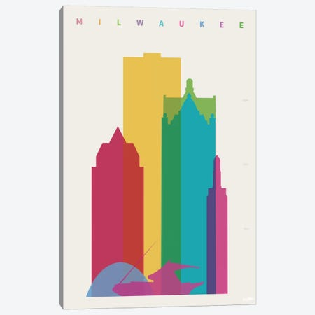 Miwaukee Canvas Print #YAL51} by Yoni Alter Canvas Art