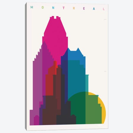 Montreal Canvas Print #YAL52} by Yoni Alter Canvas Artwork