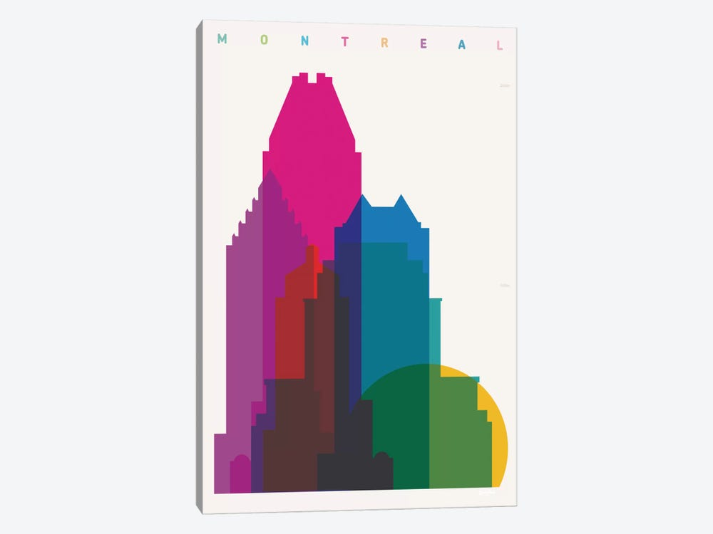 Montreal by Yoni Alter 1-piece Canvas Print