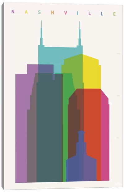 Nashville Canvas Print #YAL54
