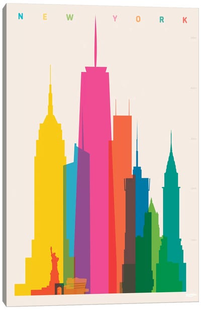 New York City Canvas Art Print