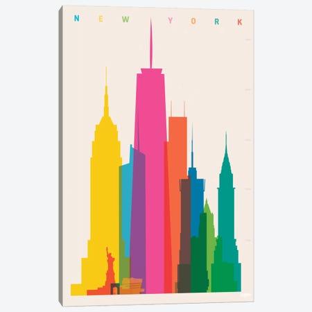 New York City Canvas Print #YAL57} by Yoni Alter Canvas Art Print