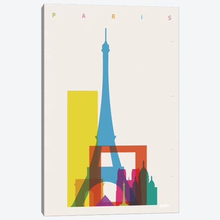 Paris Canvas Print #YAL58} by Yoni Alter Canvas Wall Art