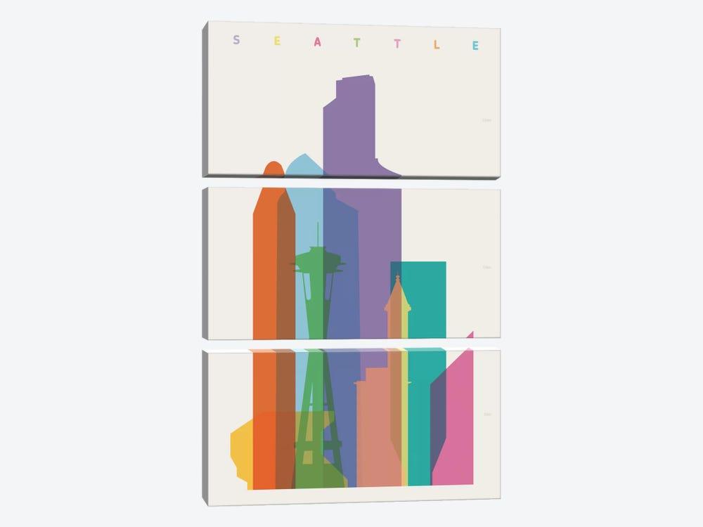 Seattle by Yoni Alter 3-piece Art Print