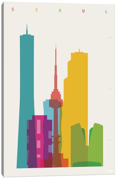 Seoul Canvas Print #YAL62