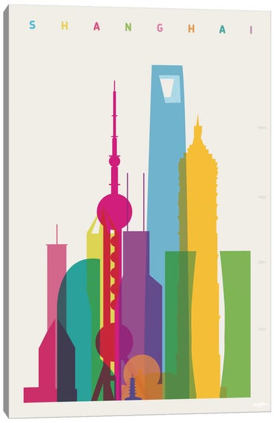 Shanghai Canvas Art Print