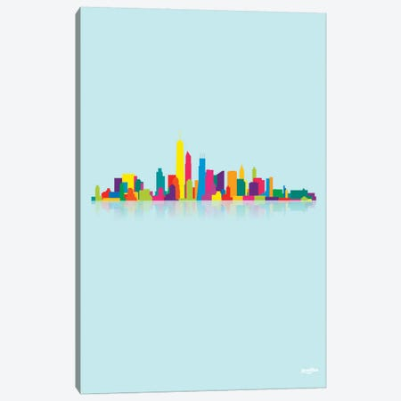 Skyline Canvas Print #YAL66} by Yoni Alter Canvas Wall Art