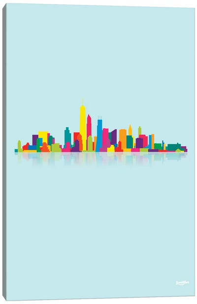 Skyline Canvas Art Print