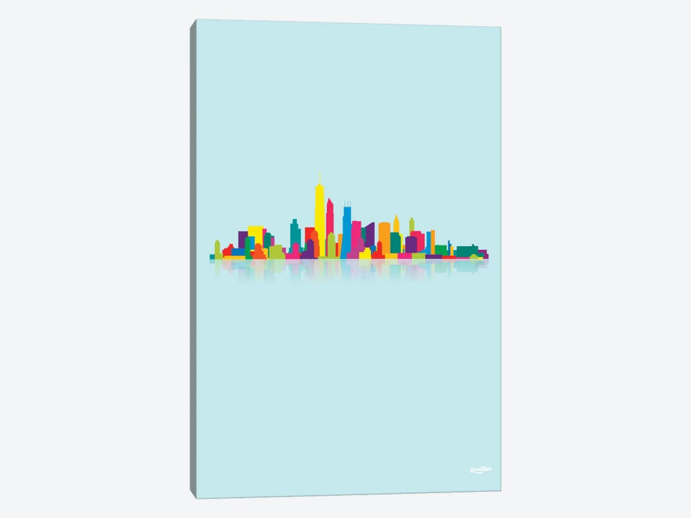 Skyline by Yoni Alter 1-piece Canvas Artwork