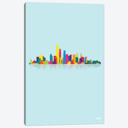Skyline Canvas Print #YAL66} by Yoni Alter Canvas Wall Art
