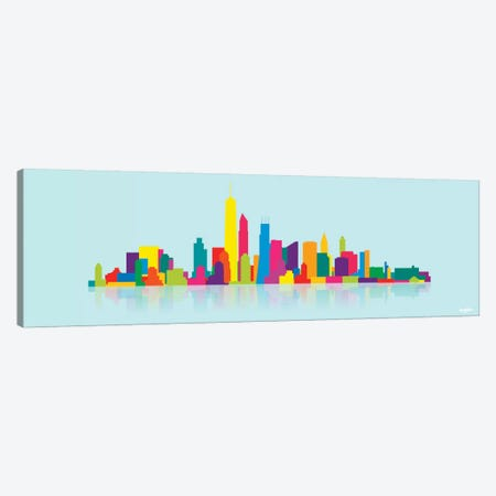Skyline WTC Canvas Print #YAL67} by Yoni Alter Canvas Wall Art