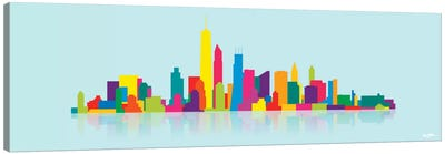 Skyline WTC Canvas Art Print