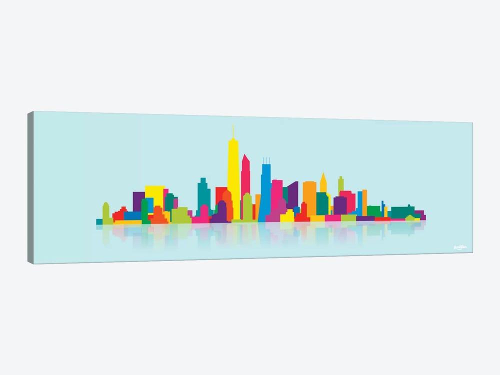 Skyline WTC by Yoni Alter 1-piece Canvas Print