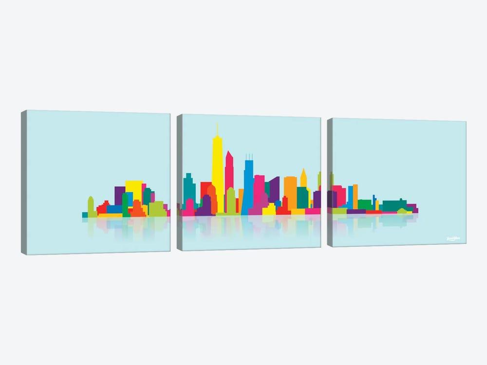 Skyline WTC by Yoni Alter 3-piece Art Print
