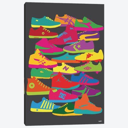 Sneakers Canvas Print #YAL68} by Yoni Alter Canvas Art Print
