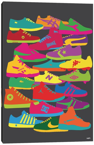 Sneakers Canvas Art Print