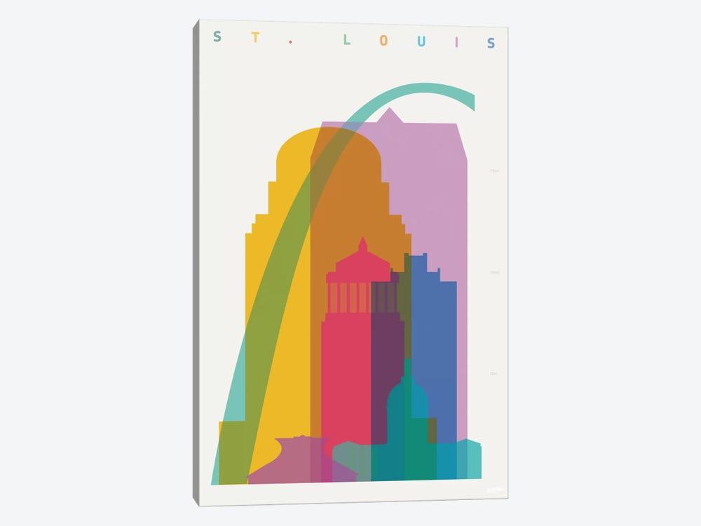 St. Louis by Yoni Alter 1-piece Canvas Art Print