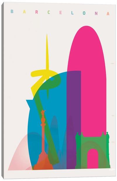 Barcelona Canvas Print #YAL6