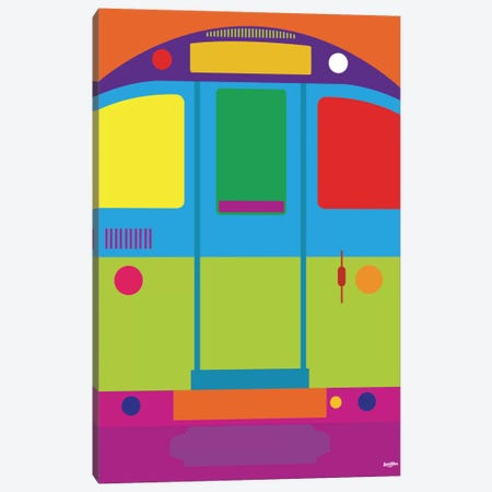 Tube Canvas Print #YAL74} by Yoni Alter Canvas Art Print