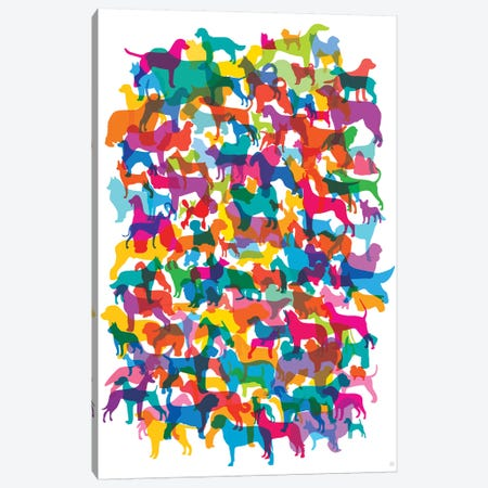 Dogs I Canvas Print #YAL79} by Yoni Alter Canvas Wall Art