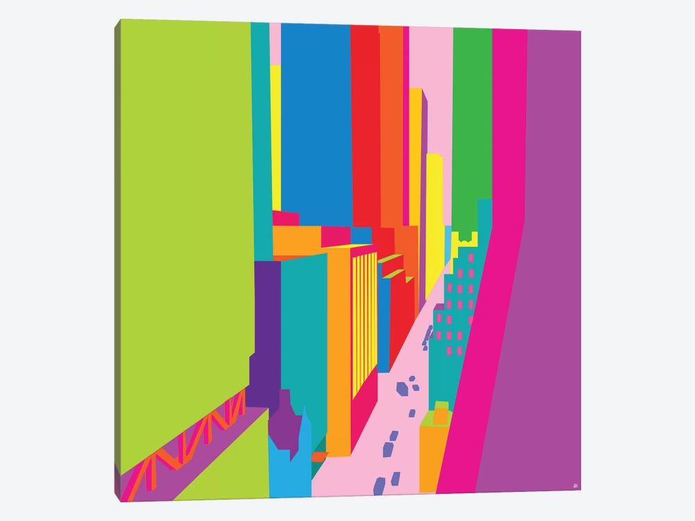 53rd And Madison by Yoni Alter 1-piece Canvas Art Print