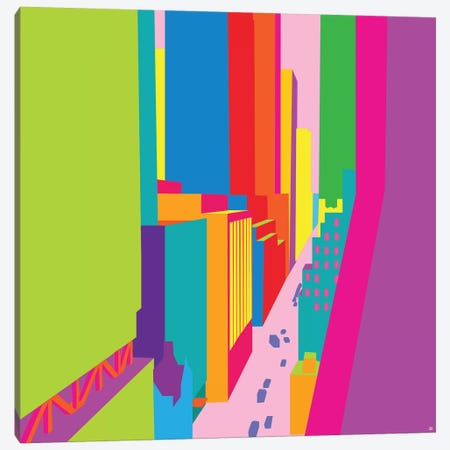 53rd And Madison Canvas Print #YAL81} by Yoni Alter Canvas Art Print